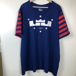Nike LeBron James 4th of July T-Shirt 3XL
